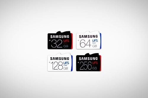 Samsung unveils world's first UFS memory cards — the successor to microSD