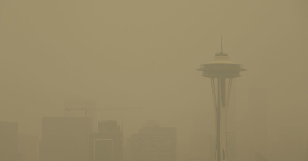 Tonight's Mariners-Giants game postponed due to poor air quality