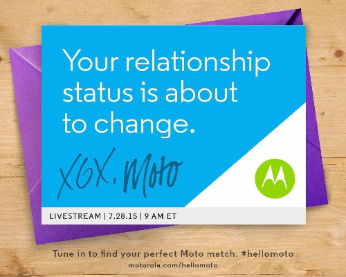 Motorola promises big announcement for July 28th