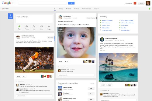 Google+ catches up to competition, lets you follow favorite websites with new button