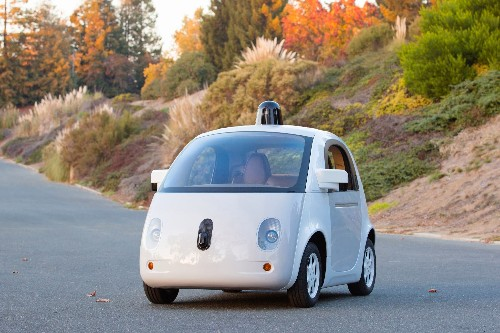 "See the first ""complete prototype"" of Google's self-driving car"