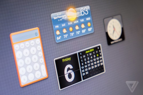Widgets are coming to Apple devices this fall. Here's what came first