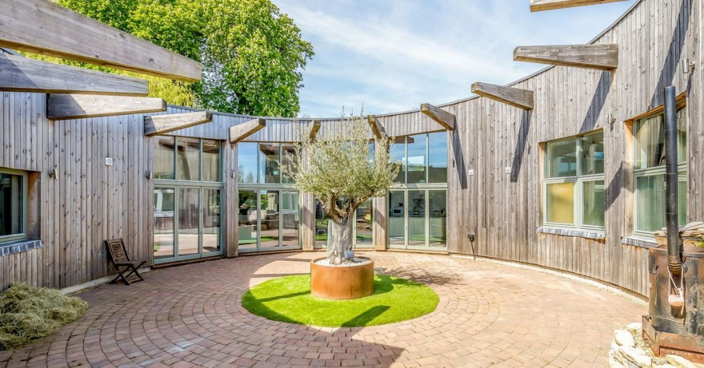 Own a cool semicircular home featured on 'Grand Designs'
