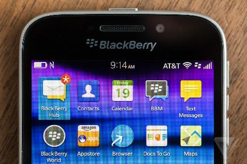 Samsung denies report that it plans to buy BlackBerry