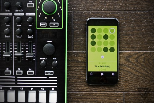 Drummer is a beautiful, minimal drum machine for iPhone