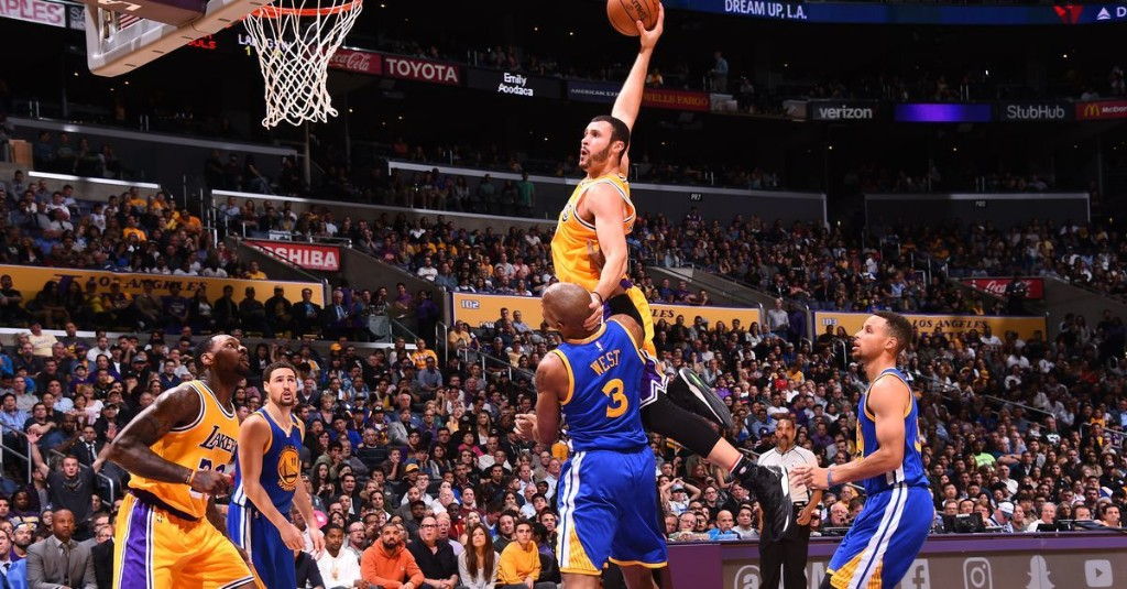 Let's appreciate a Laker: Larry Nance Jr., and his emphatic dunks