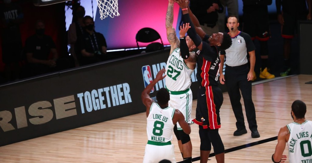 """Celtics failed to find that """"next gear"""" as Heat ramped up pressure"""