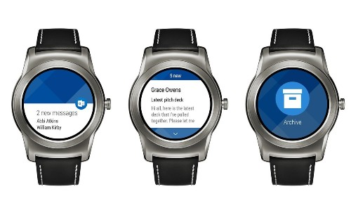 Microsoft Outlook comes to Android Wear smartwatches
