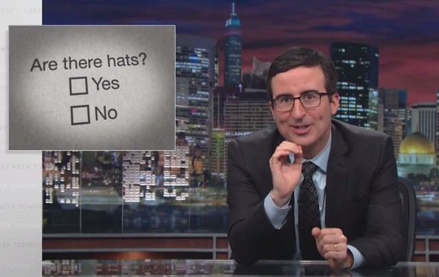 John Oliver skewers cable news and climate change skepticism