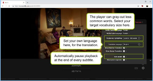This Chrome extension lets you learn a new language by watching Netflix
