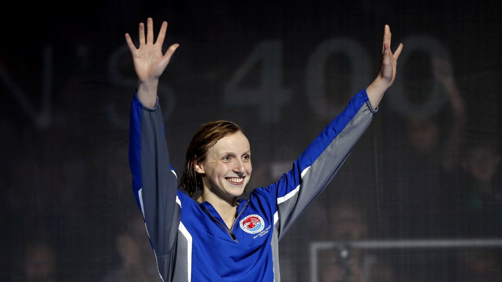 Ledecky qualifies in 400-meter freestyle