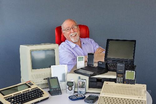 Inside Walt Mossberg's gadget museum