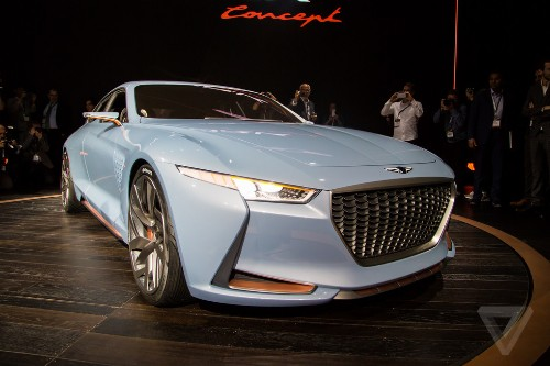 Genesis' New York Concept is a sports sedan that'll make you look twice