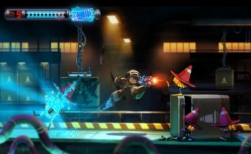 'Mega Man' spiritual successor coming to PS4 and Xbox One after smashing Kickstarter goal