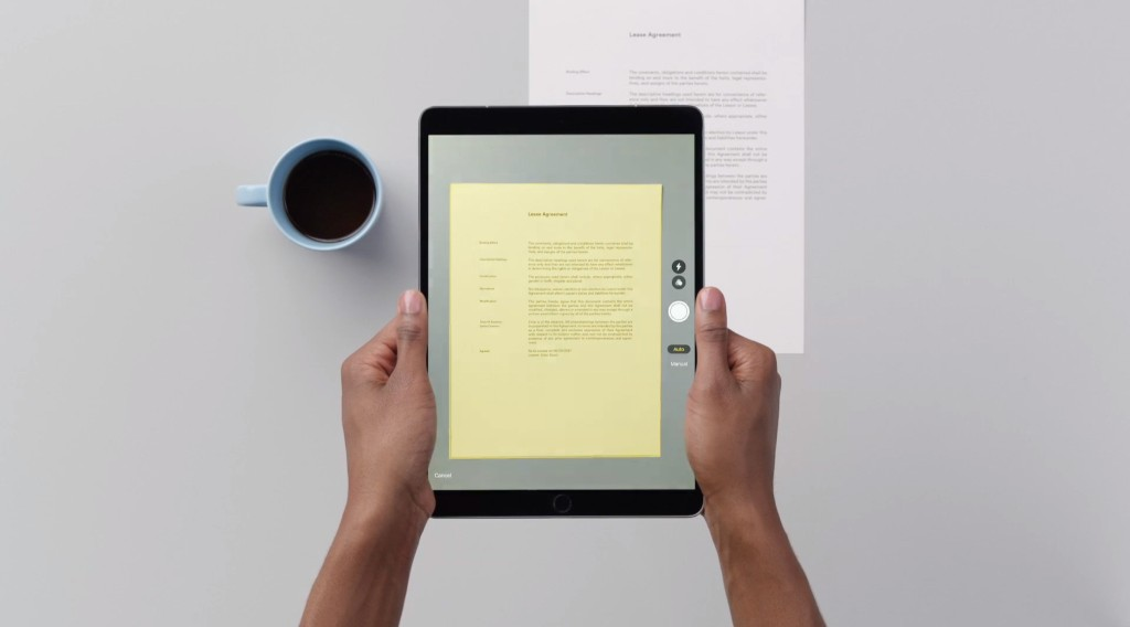 How to use Apple's terrific document scanner in iOS 11
