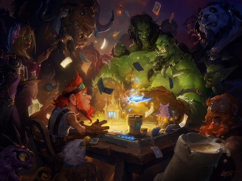 Hearthstone is out on Android tablets worldwide