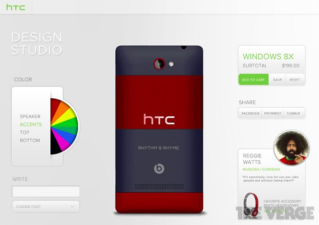 HTC was planning a phone customization site before the Moto X