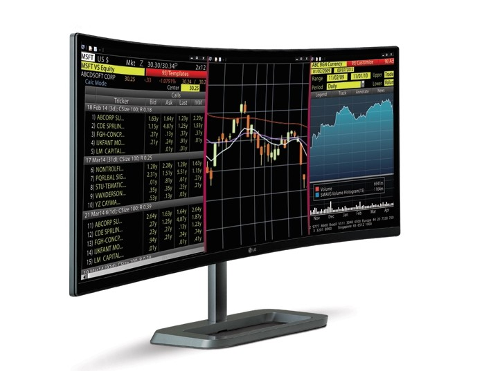 LG announces a curved, 34-inch monitor that's tailor-made for gamers