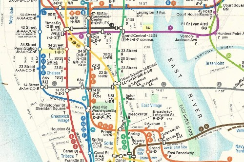 The Great Subway Map War of 1978, revisited