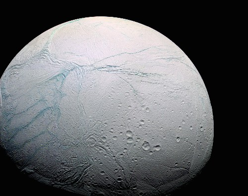 Hot water flows on Enceladus, which could harbor life