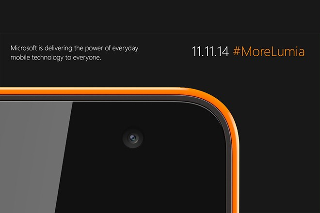Microsoft's first Lumia is coming on Tuesday