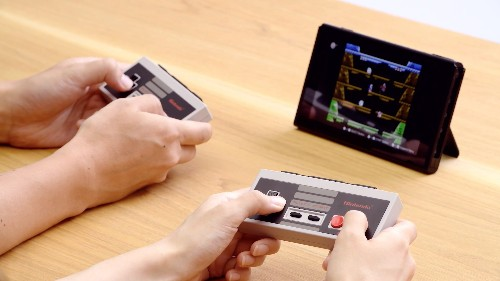 Nintendo Switch NES-styled Joy-Cons are 50 percent off for the holidays