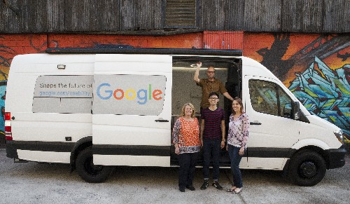 Google put a research lab in a van and is driving it around the US