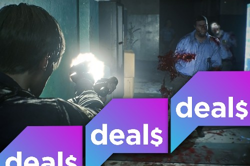 A Resident Evil 2 exclusive deal, Super Bowl TV sales and more gaming deals
