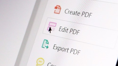 How to use Adobe Acrobat Pro's character recognition to make a searchable PDF