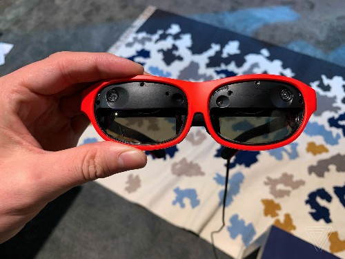 These slick new AR glasses project shockingly high-quality visuals