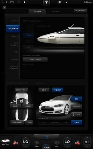Tesla Model S has a hidden James Bond mode