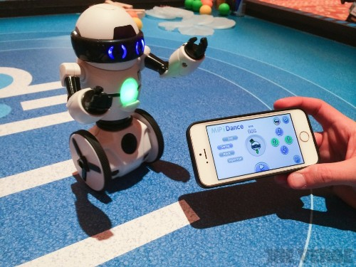 MiP is a balancing robot that works with your smartphone