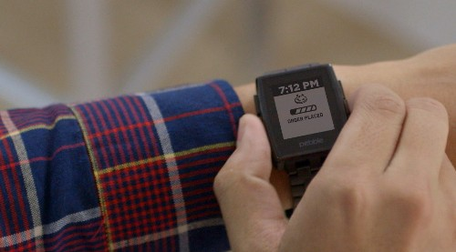 You can now track pizza from your wrist