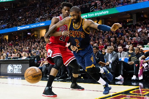 Kyrie Irving reportedly requested a trade to the Bulls before the NBA Draft
