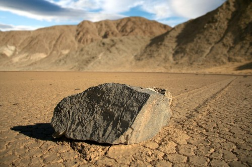 The mystery of Death Valley's sailing stones has been solved