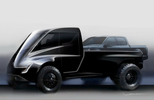 Elon Musk: Tesla pickup truck pushed back to November