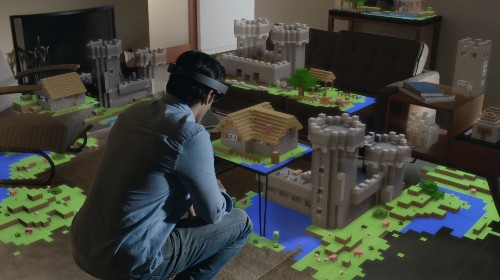 Up close with the HoloLens, Microsoft's most intriguing product in years