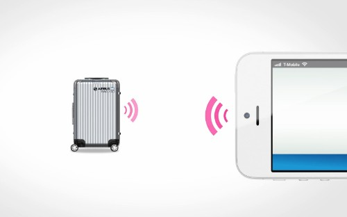Airbus smart luggage prototype offers iPhone tracking, faster check-in