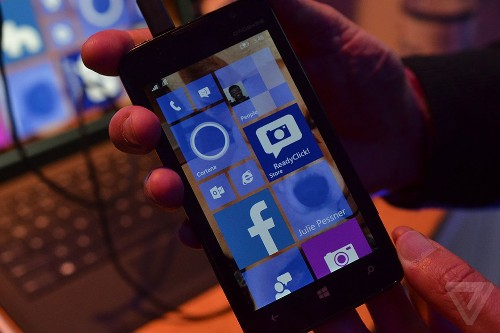 This is Windows 10 for phones