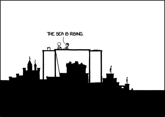 XKCD's 'Time' comic comes to an end after more than 3,000 panels