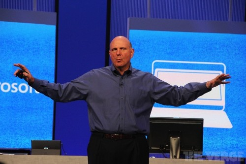 Steve Ballmer on Microsoft's future, and whether Stephen Elop is the next CEO
