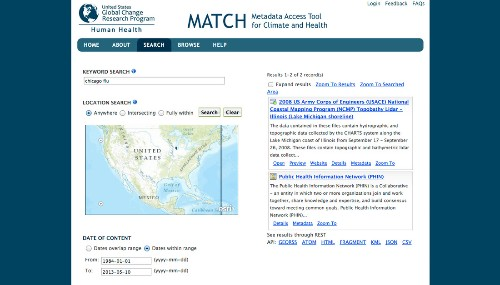 The White House eases access to climate, health data with MATCH search engine