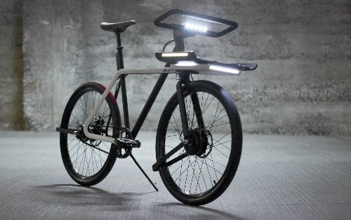 This sleek electric bike is wonderful and could be real, if you vote for it