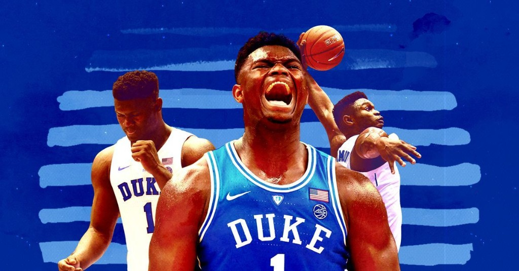 How Zion Williamson went from high school mixtape star to can't-miss No. 1 pick