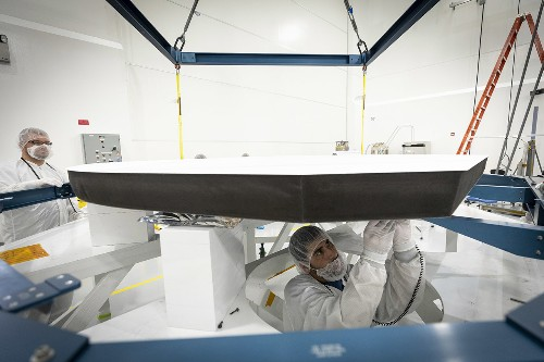 The NASA spacecraft that will journey to the Sun just got its super deluxe heat shield