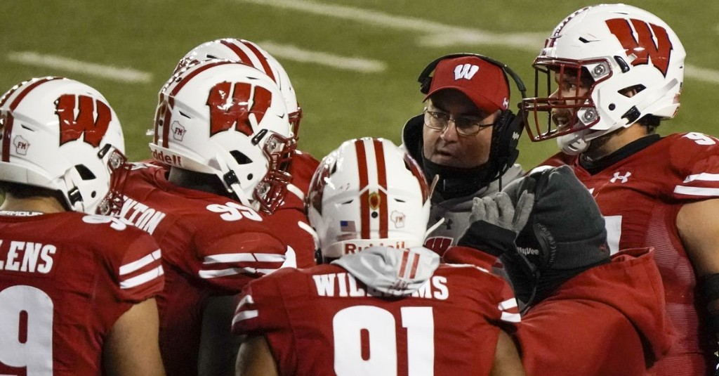 Wisconsin cancels Nebraska game after 12 people, including coach Paul Chryst, test positive for COVID-19
