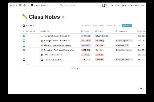 Notion's powerful note-taking app is now free for students and teachers