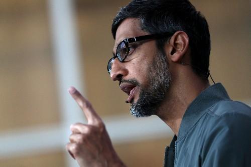 Google's Sundar Pichai snipes at Apple with privacy defense
