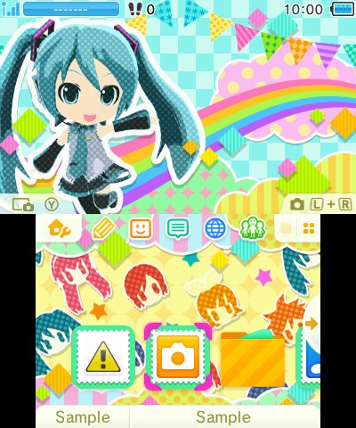 I am insanely jealous of Japan's Nintendo 3DS themes