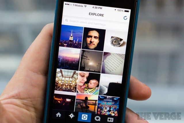 Instagram's 'Explore' tab now shows photos from people you actually know